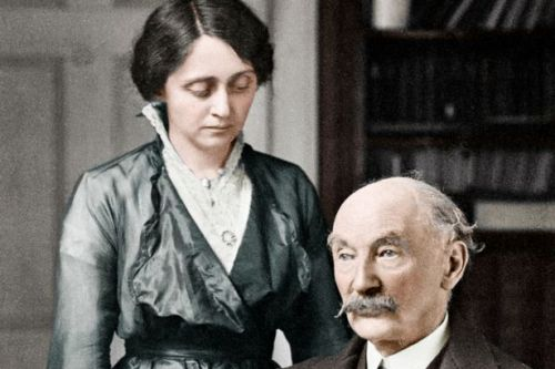 'Love letters' of Thomas Hardy's wife who found her 'genuine love match' in poet