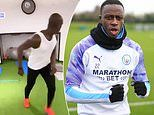 Benjamin Mendy finishes gruelling home workout with pinpoint backheel