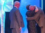 HIV-positive ex Welsh rugby captain Gareth Thomas breaks down in tears as his parents surprise him