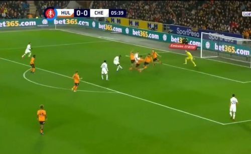 : Poacher's finish from Batshuayi gives Chelsea the lead
