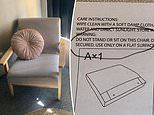 Australian woman shocked new Kmart armchair can't be used for sitting on