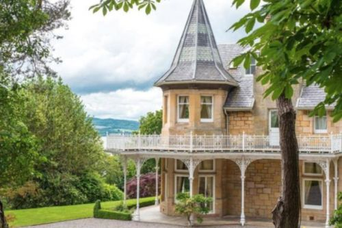 Scotland's luxury home of the week: Inside this stunning six-bedroom mansion