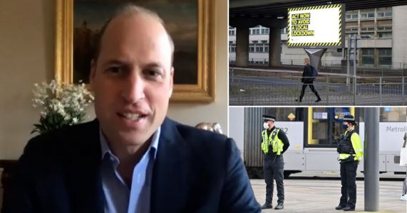 Prince William warns of 'mental health catastrophe from new lockdown measures