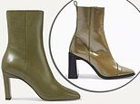 Where to find the budget version of this season's hottest fashion trend: Khaki ankle boots