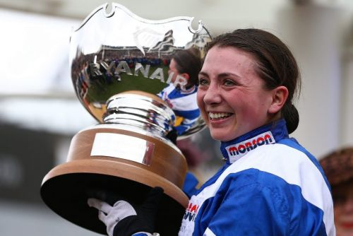 Grand National 2019: Bryony Frost to miss Aintree after breaking collarbone in nasty fall