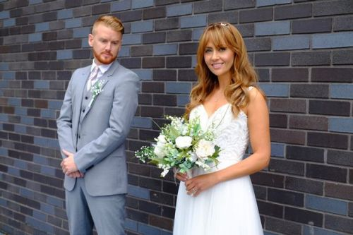 Coronation Street wedding 'nightmare' for Maria and Gary as stars couldn't touch