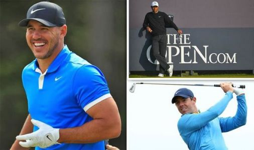 The Open leaderboard LIVE: Brooks Koepka to battle Rory McIlroy, Tiger Woods at Portrush