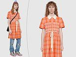Gucci is selling a £1,700 tartan dress with satin bow detail for MEN