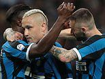 Inter Milan 2-1 Empoli: Hosts secure Champions League qualification