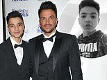 Peter Andre reveals his son Junior, 14, is battling a high temperature as the family self-isolate