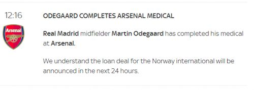"""""""We're very positive"""" - Mikel Arteta confirms Arsenal are """"pretty close"""" to finalising new signing"""
