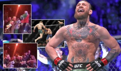 How Conor McGregor celebrated backstage after win over Donald Cerrone