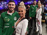 Love Island's Molly-Mae Hague and Tommy Fury attend his brother Tyson's fight in Las Vegas