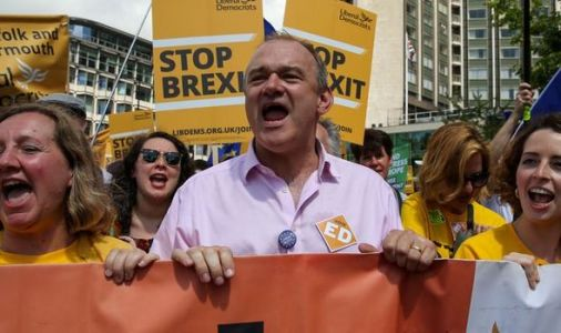 Brexit betrayal: Lib Dems' 'hideous' attempt to cancel EU exit sparks OUTRAGE on Twitter