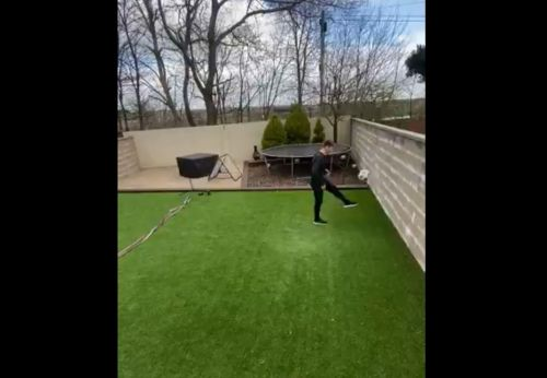: Billy Gilmour takes skills challenge to next level