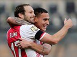 VVV-Venlo 0-13 Ajax: Dutch champions run riot with NINE second-half goals in historic hammering