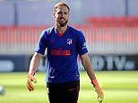 Chelsea are given fuel in Jan Oblak chase as Diego Simeone says 'hopefully he can continue with us'