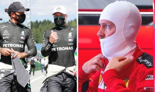 Sebastian Vettel qualifying failure surprises F1 rivals Valtteri Bottas and Lewis Hamilton