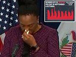 Illinois health director breaks down in tears as she reports grim new coronavirus death toll