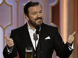 Ricky Gervais confirms he is returning to host the Golden Globes for the fifth and 'very last' time