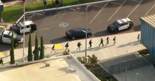 'At least three people shot' after 'boy, 15,' opens fire at Los Angeles school