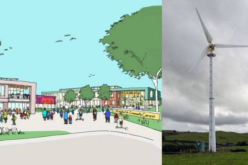 Towering wind turbine planned for new South Ayrshire school