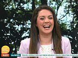 GMB's Laura Tobin returns to the studio for the first time in 98 days
