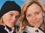 Reese Witherspoon, 43, and daughter Ava Phillippe, 20, could be mistaken for sisters in ski selfie