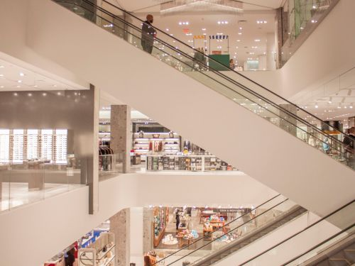 The face of department stores is radically changing, and could soon look more like a warehouse than a boutique