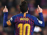 Lionel Messi scores one penalty but MISSES another as Barcelona move seven points clear