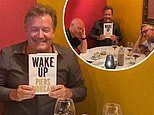 Piers Morgan hilariously bores TV pals Gary Lineker and Jake Wood to 'sleep' with his new book
