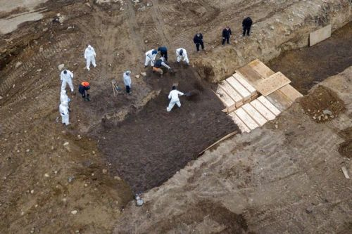 New York now burying victims in mass graves as case numbers soar past Italy