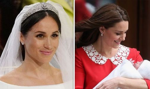 The Meghan Markle effect! DRAMATIC increase in babies named 'Meghan' takes place