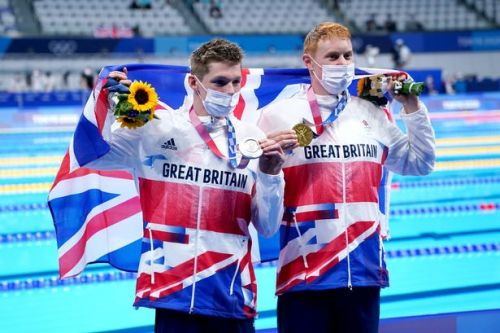 Scotland's Duncan Scott was second to team-mate Tom Dean in the 200m freestyle