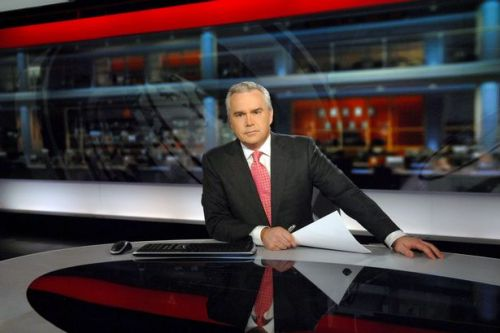 Huw Edwards beat depression by boxing as he shows off dramatic weight loss