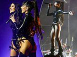The Veronicas hit the stage in very cheeky PVC bondage-inspired outfits as their tour reaches Sydney