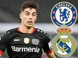 Kai Havertz 'asks to LEAVE Bayer Leverkusen this summer' with Chelsea leading Real Madrid in race