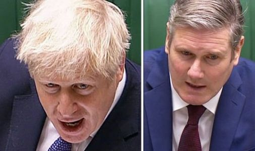 'Height of absurdity!' Boris Johnson erupts at Keir Starmer's Covid lockdown dithering