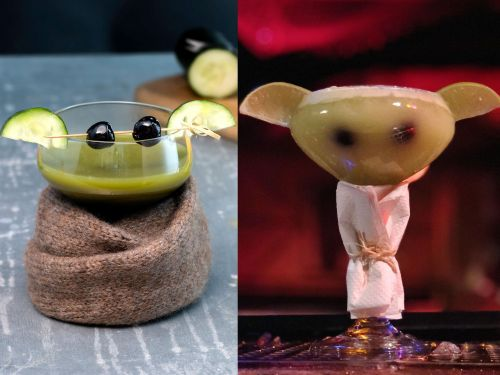 Baby Yoda cocktails are taking over bars across America, proving 'The Mandalorian' character's popularity isn't going anywhere