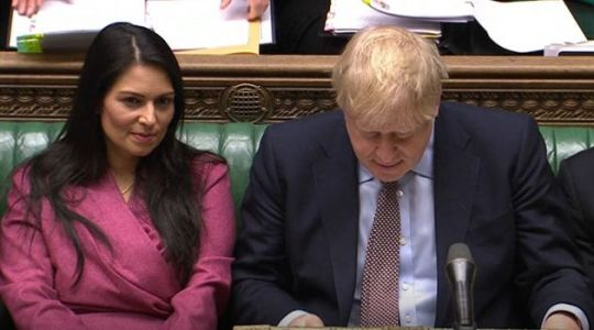 Boris Johnson Is Asked Why He 'Overruled' Priti Patel's Advice To Shut Borders