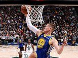 Jonas Jerebko secures dramatic win for Golden State Warriors