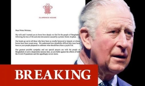 Prince Charles pens heartbreaking letters to Bangladesh and India after horror Cyclone