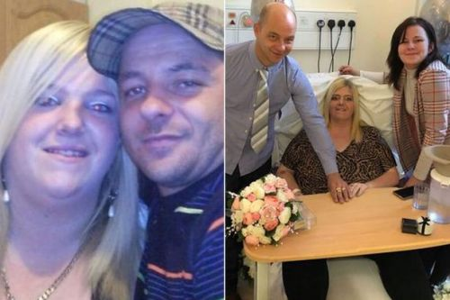 Mum-of-seven dies just 24 hours after her wedding day following cancer battle