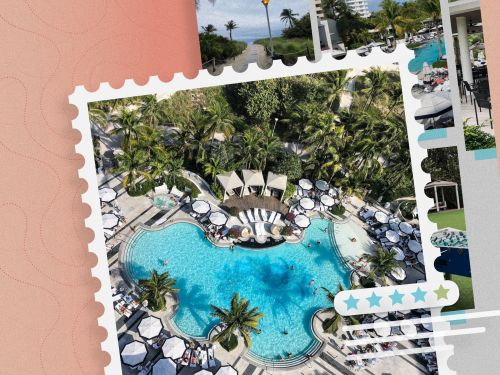 Loews Miami Beach is one of the more affordable luxury hotels in South Beach - unless you want to face the ocean, and of course, those are the best rooms