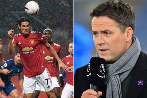 Cavani Man Utd debut moment leads Michael Owen to make encouraging prediction