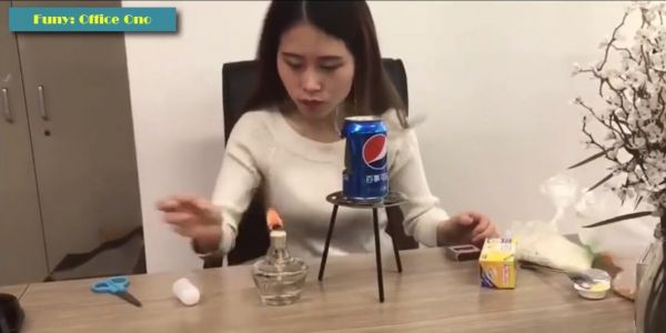 A teenager died after being severely burnt when she reportedly copied a video of a popular Chinese YouTuber cooking popcorn in a soda can