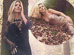 Mollie King stuns in Christmas-ready ensembles as she poses for Littlewoods' winter collection