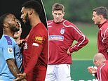 How club rows have bubbled over into England camps after Raheem Sterling-Joe Gomez bust-up