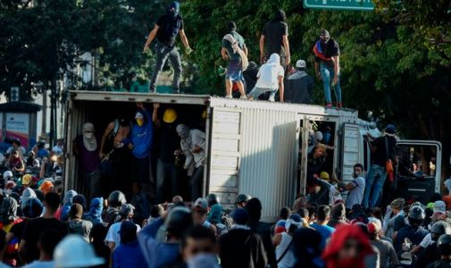 Crowds defy police to cry out for change in Venezuela