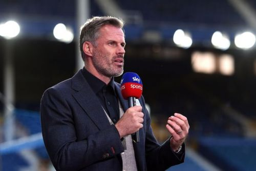 """Carragher's """"oh f***"""" comment upsets US TV viewers after Alex Scott corrects him"""
